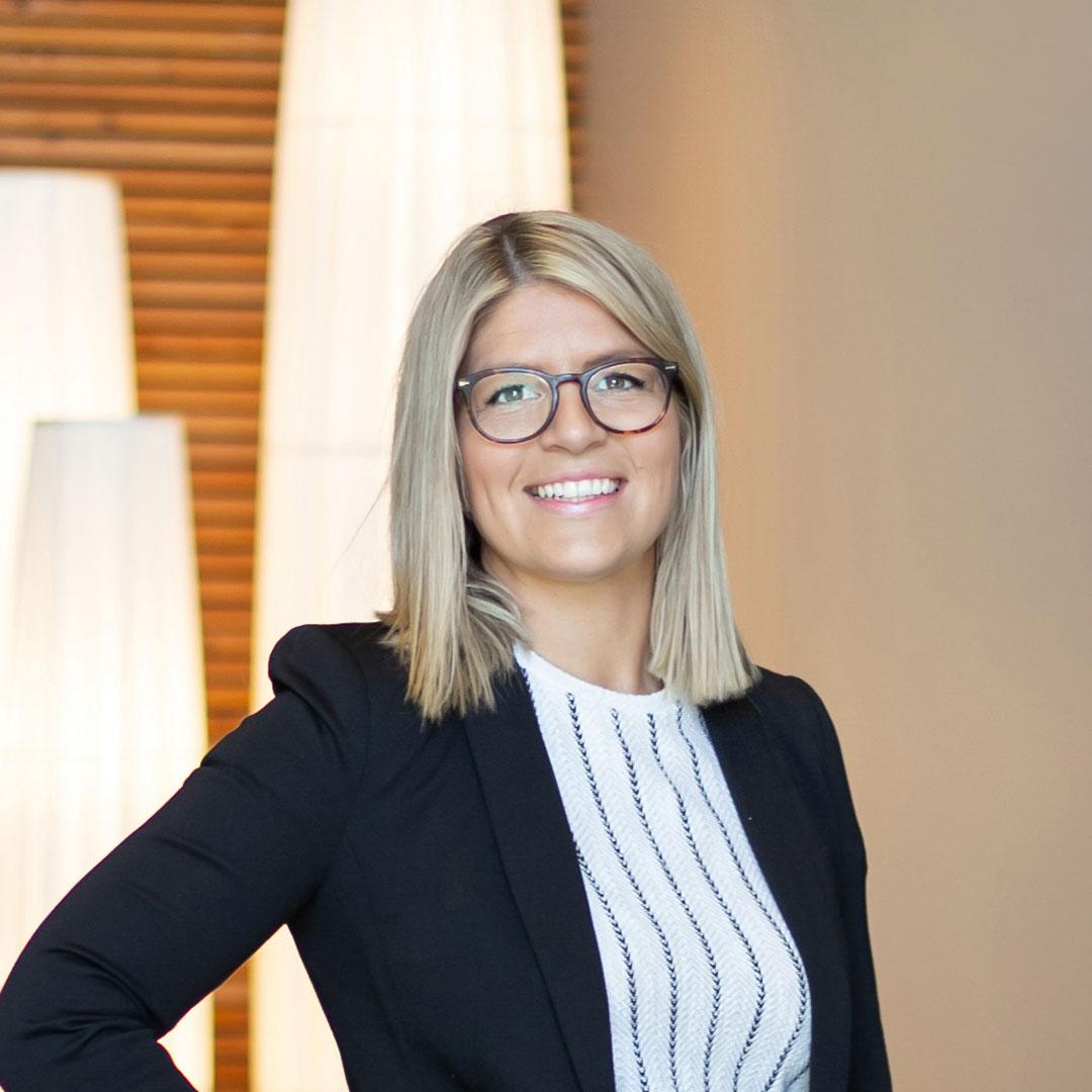 Susanne Hansen, fastighetsmäklare