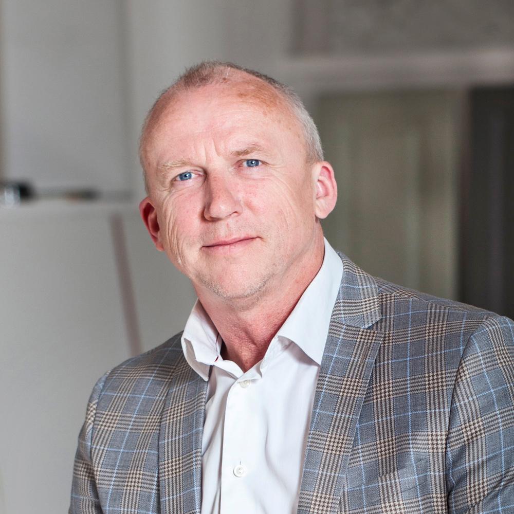 Karsten Johansen, marknadschef, 1:A Villan